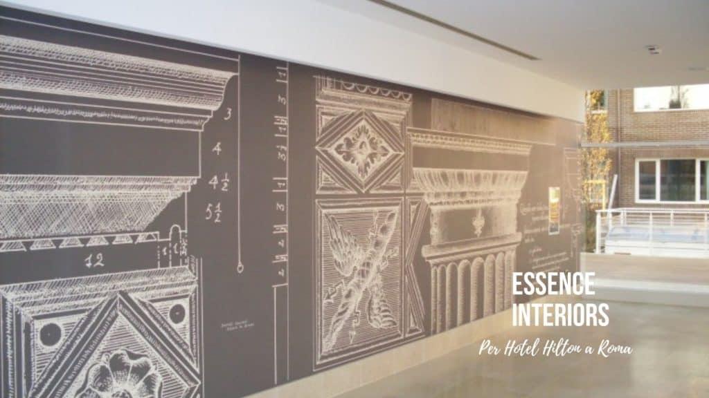 ristrutturazione interni progetto hotel roma
