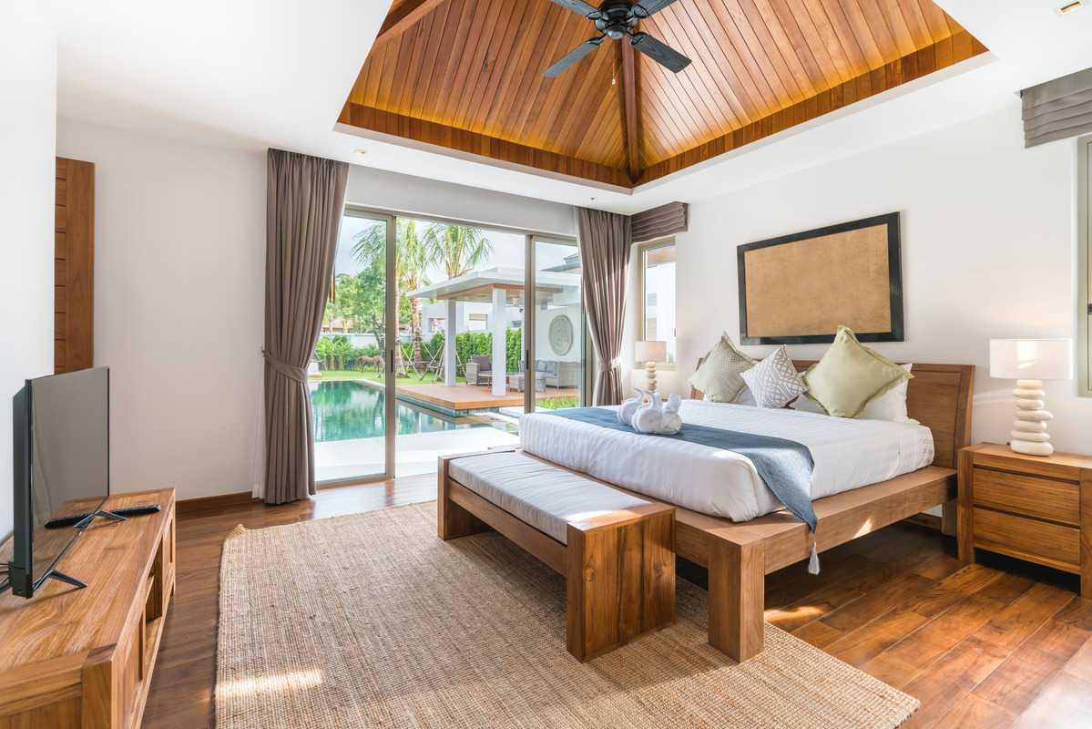 Arredamento camera luxury di un resort - by Essence Interiors