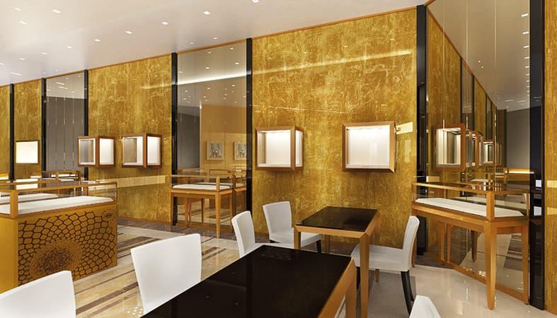 progettazione di interni gioielleria - essence interior