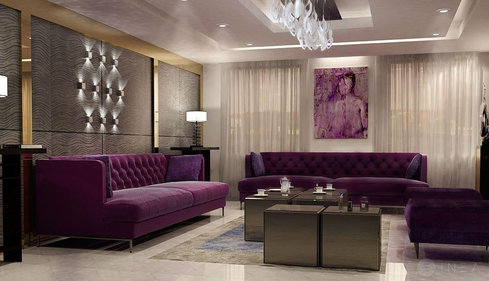 arredamento su misura e progettazione di interni ville di lusso